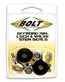 Bolt Motorcycle Hardware (2007-RVS) Rim Lock and Valve Stem Seal