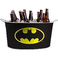 Balde De Gelo Metal Oval Dc Batman Preto - 75026523
