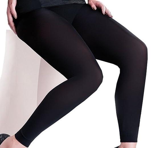 3afb28d8181 Gabriella Plus Size Microfibra Leggings 100 DEN at Amazon Women s ...