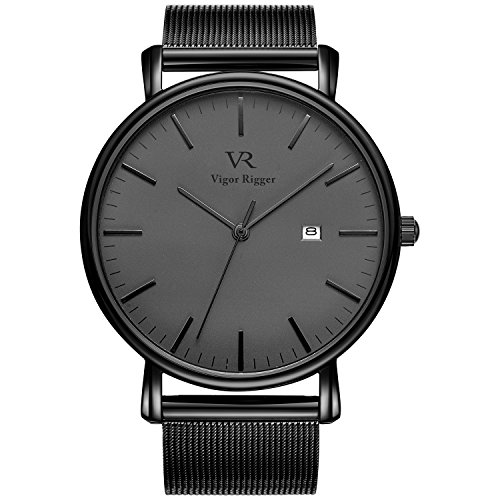BUREI Fashion Minimalist Analog Milanese product image