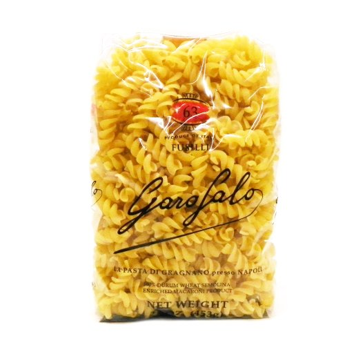 Garofalo Fusilli Pasta, 16-Ounce (Pack of 4)