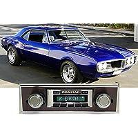 1967 Firebird with Walnut Trim USA-630 II High Power 300 watt AM FM Car Stereo/Radio with iPod Docking Cable