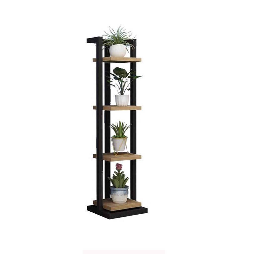 GJR-HUAJIA Cremagliera del Fiore del Basamento del Fiore di Multi-Strato del Fiore del Rack di Telaio di Angolo Nordico della mensola del Salone del Balcone (Formato  30  30  117cm)