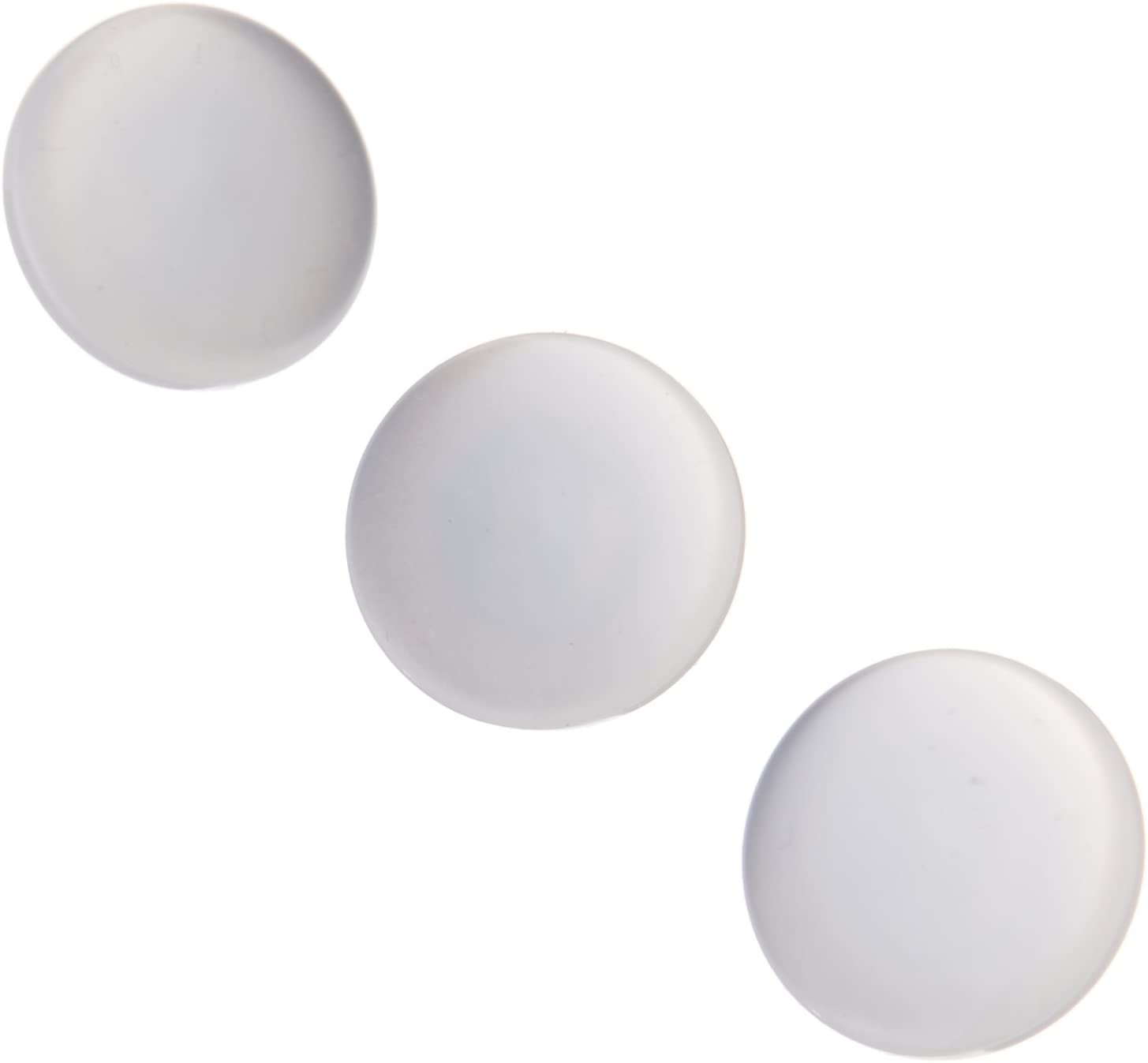 6 Per Card White 12mm Buttons Sewing Craft Knitting 4 holes
