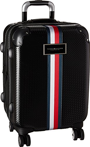 (Tommy Hilfiger Basketweave, BLACK)