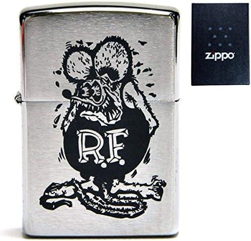 RAT FINK ラットフィンク 刻印 zippo 200 ジッポ ライター アメリカン雑貨 アメリカ雑貨 エド・ロス HOTROD ホットロッド custom カスタム グッズ ねずみ モンスター デザイン