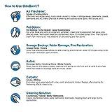 OdoBan Ready-to-Use 32oz Spray Bottle 2-Pack, Fresh Linen Scent - Odor Eliminator, Disinfectant, Flood Fire Water Restoration
