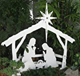 MyNativity Outdoor Christmas Nativity Set, Medium