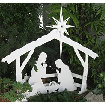 Amazon mynativity outdoor christmas nativity set medium mynativity outdoor christmas nativity set medium solutioingenieria