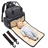 All in One Backpack Diaper Bag Waterproof Baby Nappy Bag Mom Bag