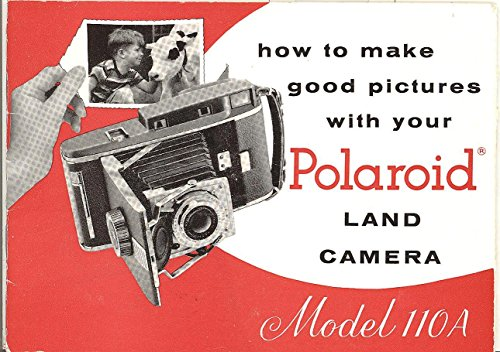 Polaroid Land Camera Model 110A Original Instruction Manual
