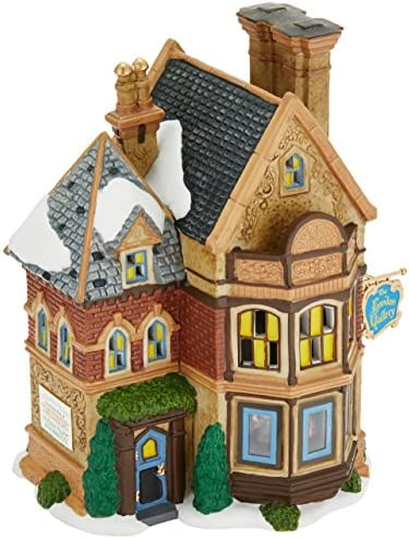 Department 56 Dickens Village The London Gallery Lit House