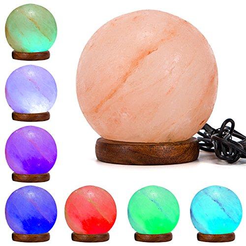 Natural Himalayan Salt Lamp Included product image