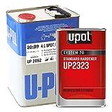 U-Pol 2892 High Solids Urethane (4.4 VOC) High Solids Spot Repair Urethane Clearcoat Kit with Standard (65 to 90u00baF) Temperature Hardener