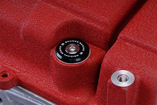 Skunk2 Honda/Acura B-Series Vtec Black Anodized Low-Profile Valve Cover Hardware (649-05-0115)
