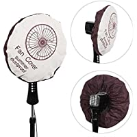 48cm Non-woven Electric Fan Circle Dust Cover Protection Cap Dustproof Round Baby Safety Fan Cover Storage Bag Organizer