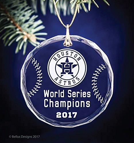 houston astros world series champions 2017 baseball themed keepsake christmas circle ornament