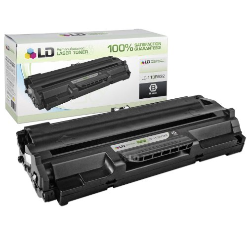 LD Xerox Remanufactured 113R632 Black Laser Toner Cartridge Includes: 1 Black 113R00632 for use in Xerox WorkCentre Pro 580 Printer (Workcentre Pro 580 Laser Printers)