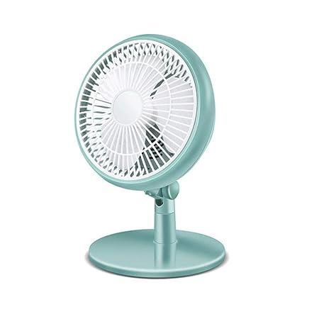 WPCBAA Pequeño ventilador silencioso de sobremesa Ventilador de ...