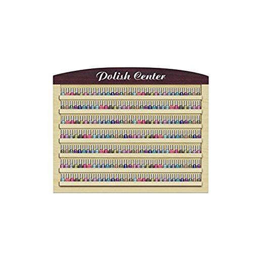Nail Polish Wall Rack VERONA I Holds up to 220 Nail Polish Bottles Salon Furniture & Equipment by MAYAKOBA