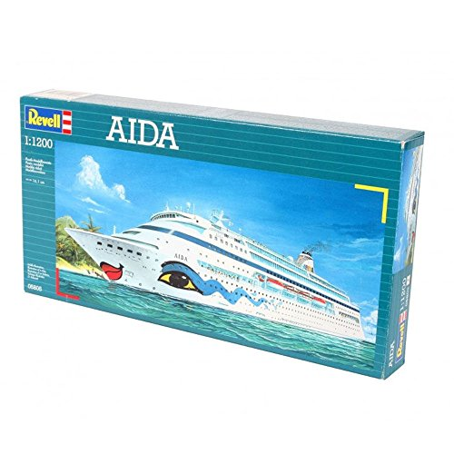 Plastic Model Germany Ship (1:1200 Revell Aida Model Ship)