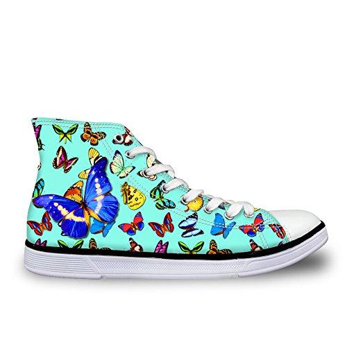 Coloranimal Alto butterfly A 7 Donna pretty Collo agnZPTa