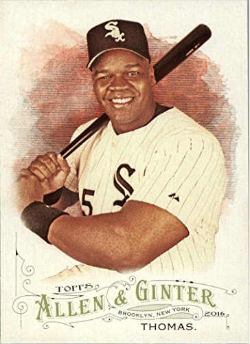 2016 Topps Allen and Ginter Baseball #268 Frank Thomas Chicago White Sox