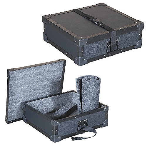 Economy Rack Kit - Mixers & Small Units 1/4 Ply Economy Tuffbox Light Duty Road Case Fits Crest Audio Xr 20 Rackmount Stereo