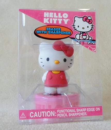Hello Kitty Eraser with Sharpener
