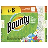 #10: Bounty Paper Towels, Print, 6 Big Rolls