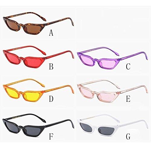 Eyewear retro pequeño mujer Moda Rawdah Eye Negro Sunglasses marco Cat UV400 Vintage wYvFwnq0