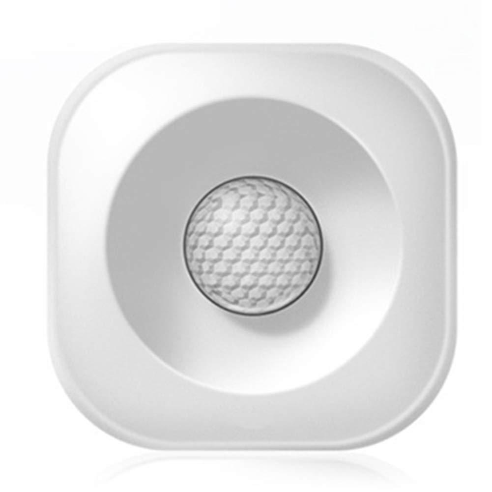 AJIAMA Detector Sensor De Movimiento Pir Inteligente Inal/ámbrico De Alta Precisi/ón Casa Inteligente Compatible Alexa Home Assistant
