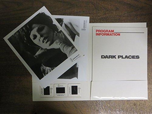Dark Places (1973) Press Kit w/4 B&W Stills & 3 Slides Christopher Lee Joan Collins