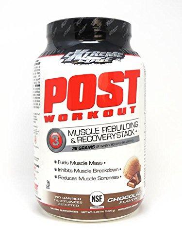 Bluebonnet Extreme Edge Post Workout Powder, Atomic Chocolate, 2.25 Pound - Edge Powder