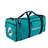 Amirshay, Inc.. Miami Dolphins NFL Steal Duffel Bag (Teal) (2-Pack)