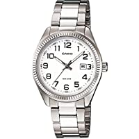Relógio Casio - LtP-1302D-7bvdf - Steel Steel - White Dial - Women's