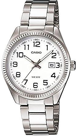 e879071ff0f Relógio Casio - LtP-1302D-7bvdf - Steel Steel - White Dial - Women s ...