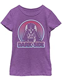 Star Wars Girls Darth Vader Circle T-Shirt
