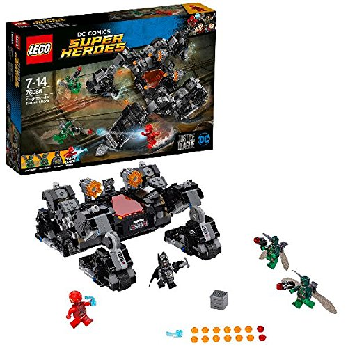 LEGO DC Comics Super Heroes 76086 Justice League Knightcrawler Tunnel Attack  Toy  LEGO  Amazon.co.uk  Toys   Games a4dcf920d6