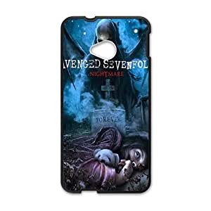 JIANADA venged Sevenfold Nightmare Cell Phone Case for HTC One M7