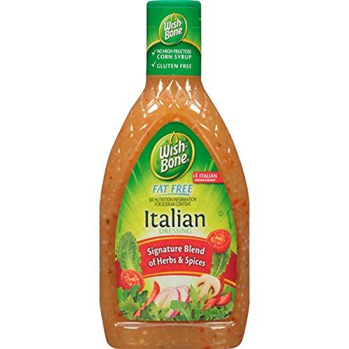 Wish-Bone Salad Dressing, Fat Free Italian, 15 Ounce Dressing Fat