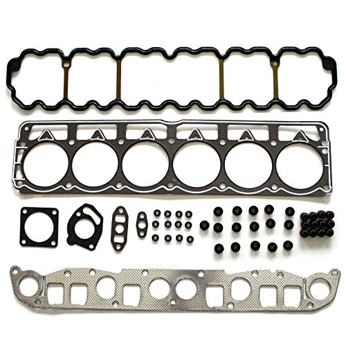 ECCPP Replacement for Head Gasket Set for 99-03 Jeep Grand Cherokee 99-03 Jeep TJ 99-03 Jeep Wrangler 4.0L VIN S Engine Head Gasket (Best Year Jeep 4.0 Engine)