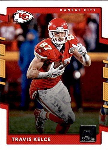 2017 Donruss #129 Travis Kelce Kansas City Chiefs Football Card (Kansas City Chiefs Football Card)