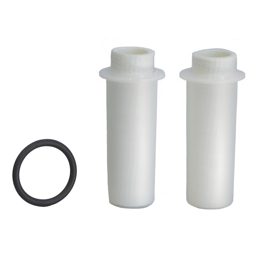 Grü nbeck Replacement Filter Cartridges for FS 1' Water Filter / Pack of 2 (50 µ m With Protective Dome) Grünbeck