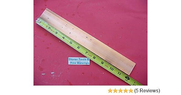 "3//8/""x 1-1//2/"" C110 COPPER BAR 24/"" long Solid Flat Bar .375 Mill Bus Bar Stock H02"