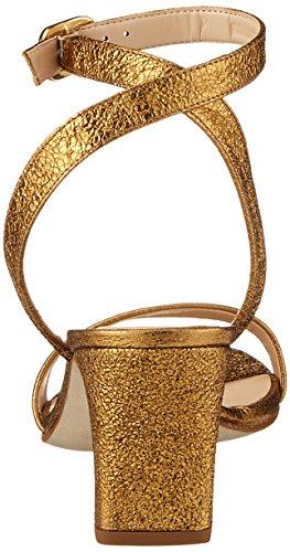 Unisa Mandi_Se, Sandales Bride Cheville Femme Or (Old Gold)