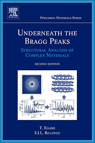 Underneath the Bragg Peaks, Volume 16: Structural Analysis of Complex Materials (Pergamon Materials Series)