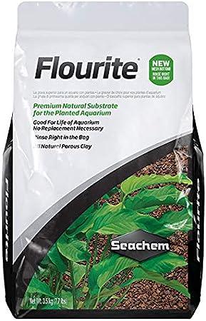 Seachem - Grava de Arcilla fluorita, 3,5 kg