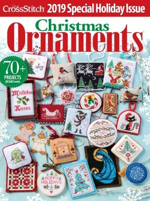 Just Cross Stitch Magazine Christmas Ornaments 2019
