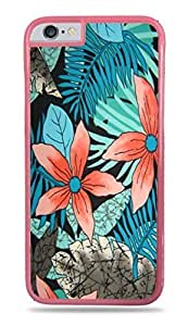 New Fashion Case Blue & Black Floral Pink Hardshell ROYbk8k3D1W case cover for iphone 6 4.7